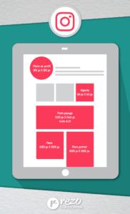 Cheat Sheet Instagram : Quelle taille pour les images de votre compte Instagram?