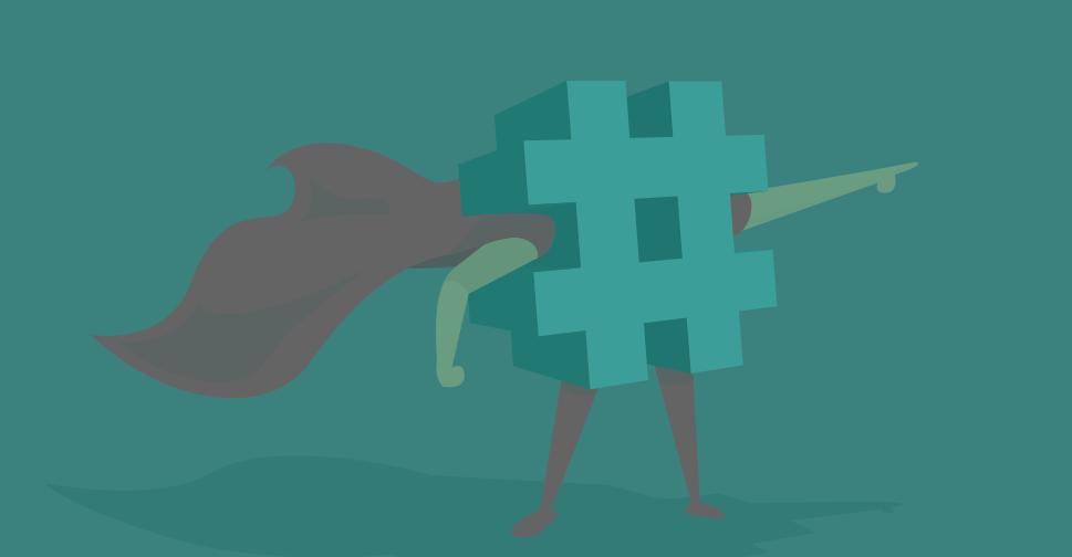 hashtag viral, un hashtag qui est propulsé partout