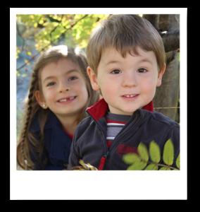 les deux adorables enfants de Josée
